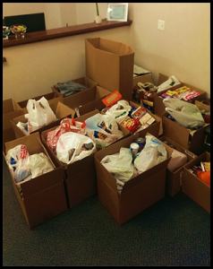 2015 Thanksgiving Food Drive